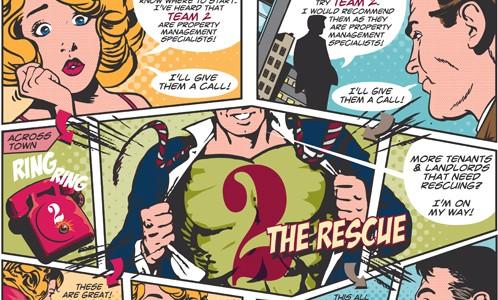2 the Rescue comic strip3
